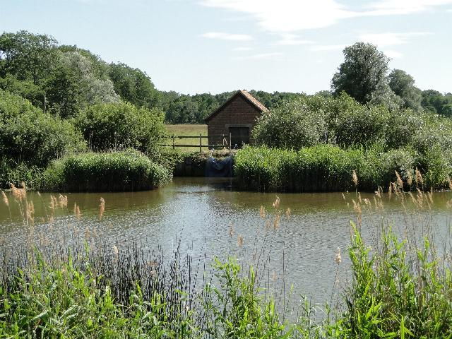 Pumping Station on the River Waveney
