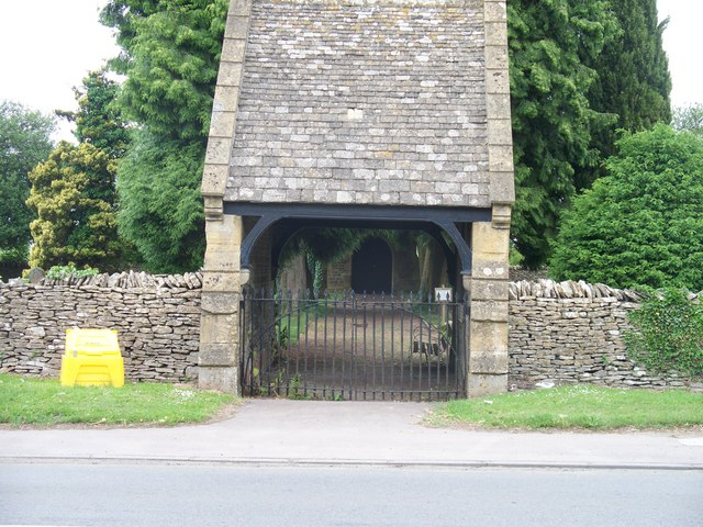 Stow cemetery lych gate