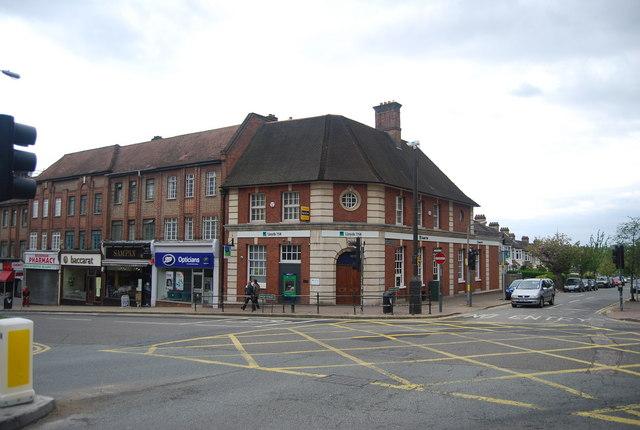 Lloyds TSB, Church Avenue and High St, Beckenham