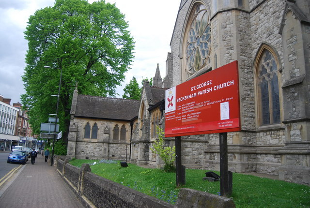 St George's Parish Church, High St, Beckenham