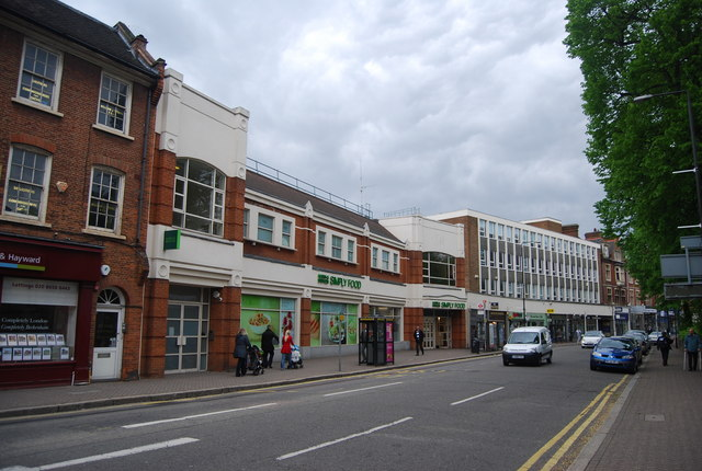Shops, High St, Beckenham