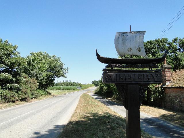 Aldeby Village Sign