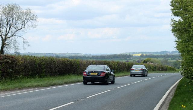 2010 : A37 heading north to Bristol