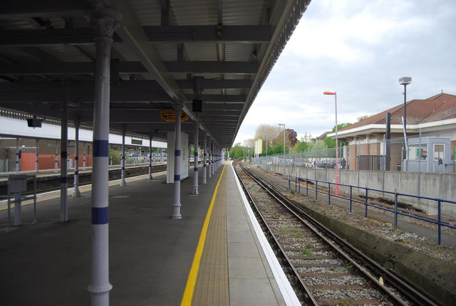 Platform 4, Beckenham Junction Station