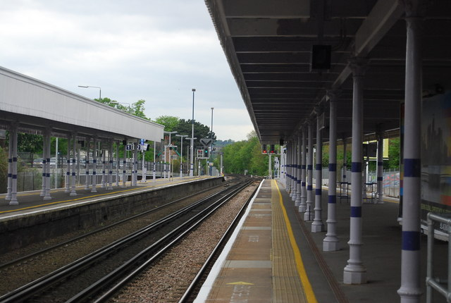 Platform 3, Beckenham Junction Station
