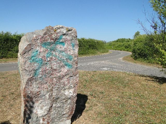 Stone of Destiny, Aldeby, Norfolk
