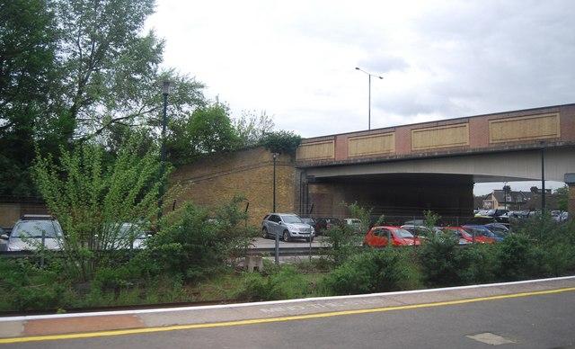 A21, Kentish Way Bridge, Bromley South Station