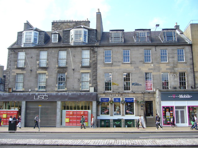 Georgian buildings, Princes Street