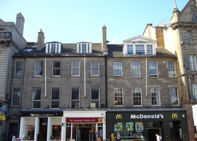 Georgian buildings, Princes Street