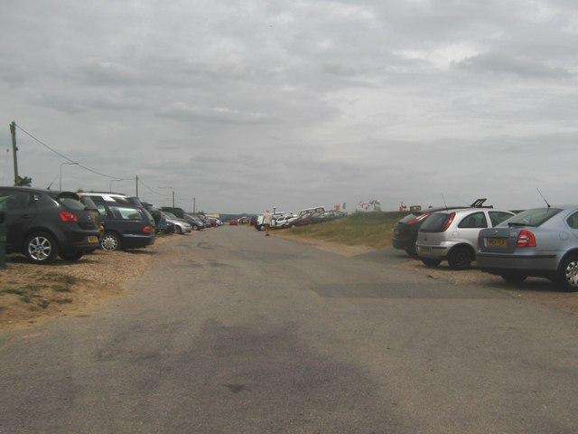 St Mary's Bay Sands car park