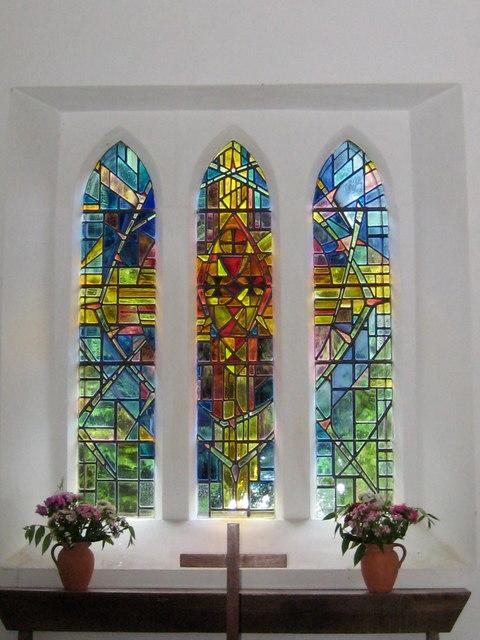 Church window - Fishpond Bottom