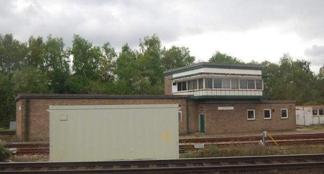 Tonbridge Signal box