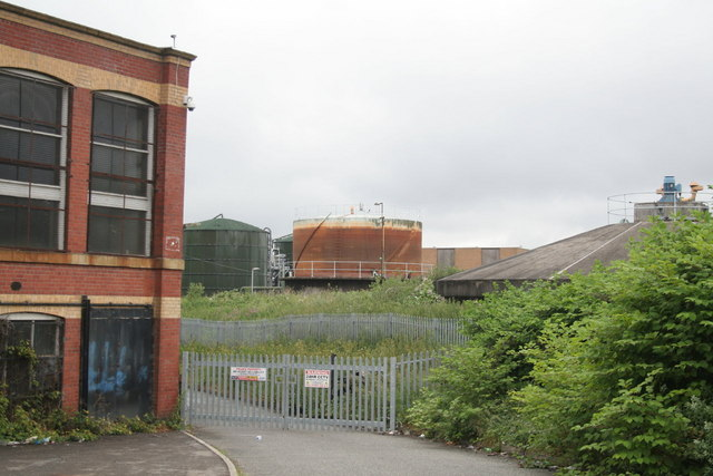 Sewage works gasholder