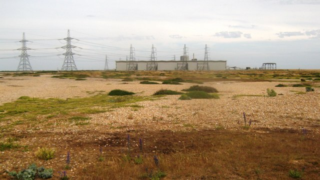 View of Dungeness Power Station