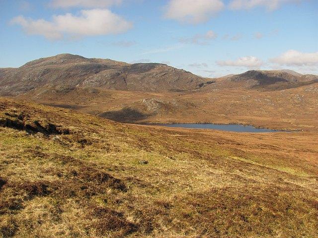 Moorland east of Loch Ruadh