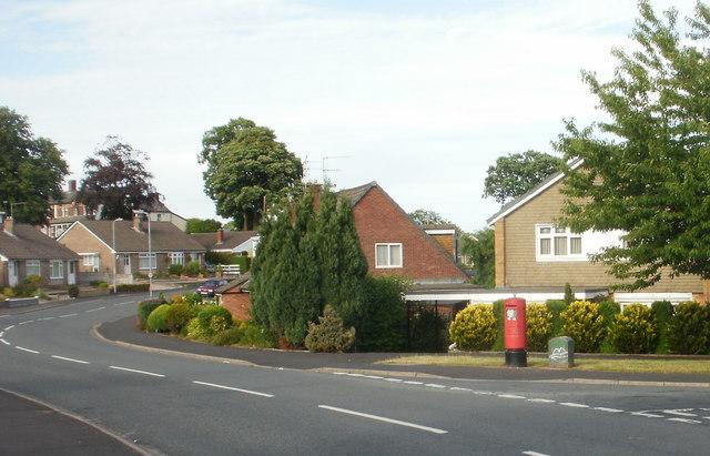 Corner of Almond Drive and Rowan Way, Newport