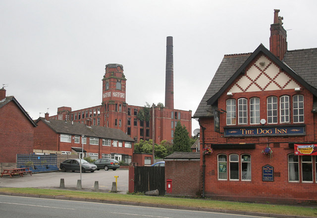 Hartford Mill and The Dog Inn