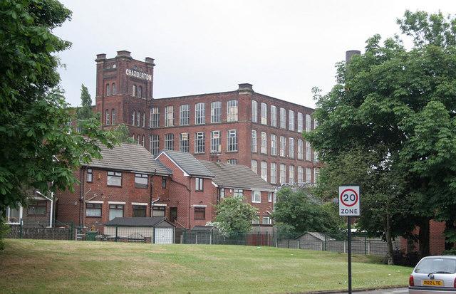 Chadderton Mill and housing