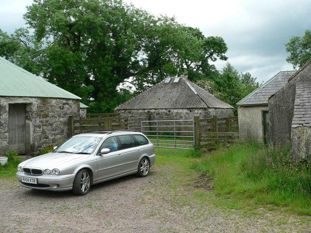 Redundant farmstead at Blackmoor