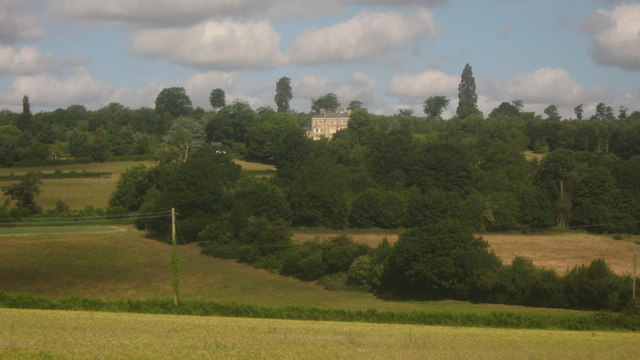 View of Emmetts House from Ide Hill