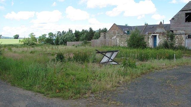Demolished farm, Eccles