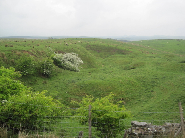 Disused Quarry near Manor Farm