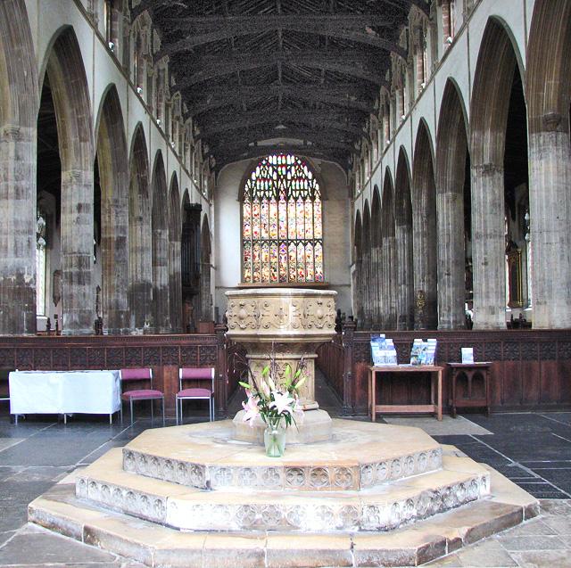 St Nicholas' Chapel in Kings Lynn - view east