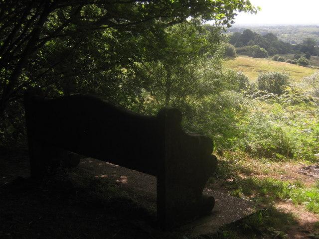 Octavia Hill's Bench on Ide Hill