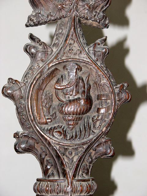 St Nicholas' Chapel in Kings Lynn - medieval carving