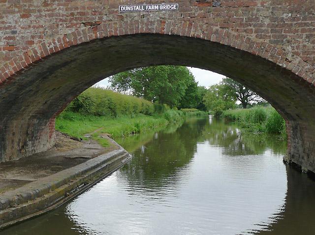 Dunstall Farm Bridge near Bonehill, Staffordshire