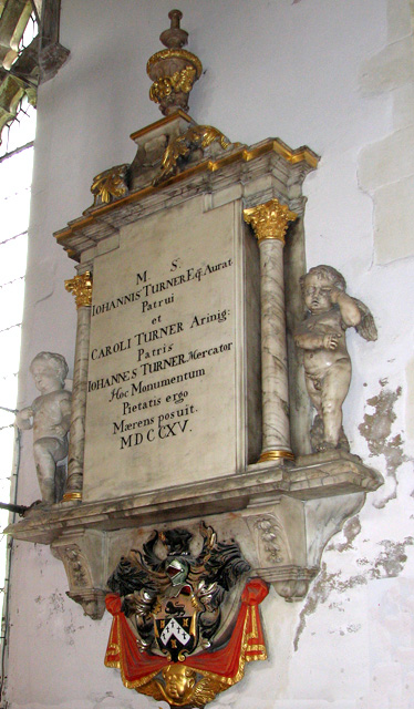 St Nicholas' Chapel in Kings Lynn - C10 monument