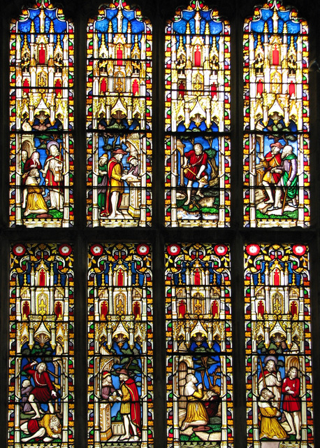St Nicholas' Chapel in Kings Lynn - C19 stained glass
