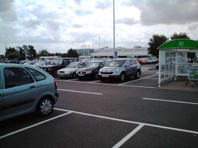 Asda And Car Park