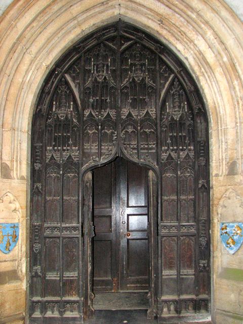 St Nicholas' Chapel in Kings Lynn - south doorway