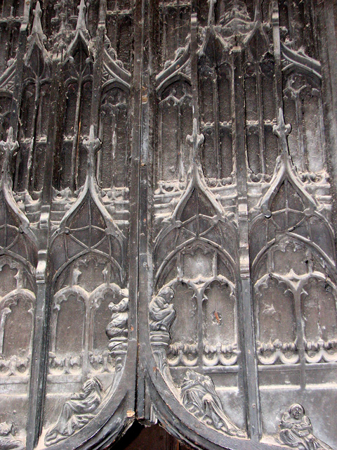 St Nicholas' Chapel in Kings Lynn - south doorway (detail)