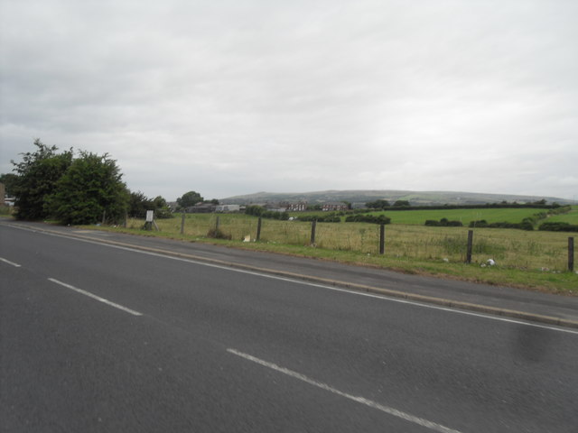Fields near Chequerbent