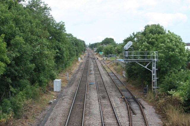 Low Gates crossing the line to Teeside