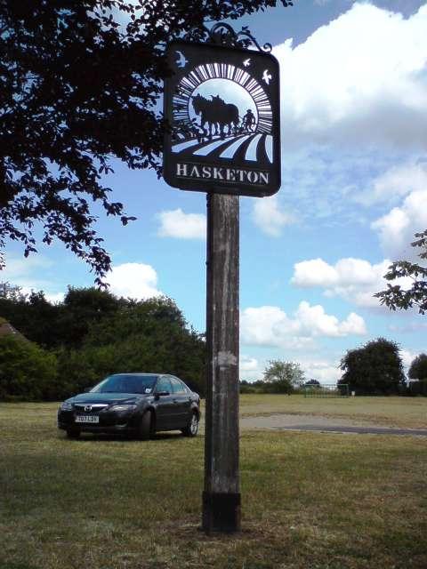 Hasketon Village Sign