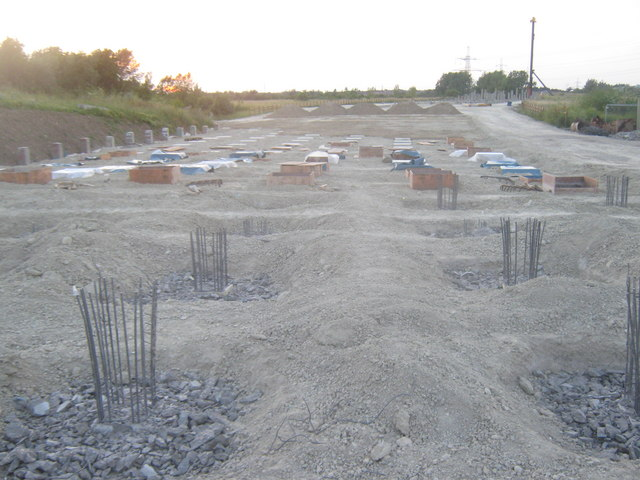 Piles in the Northern Relief Road