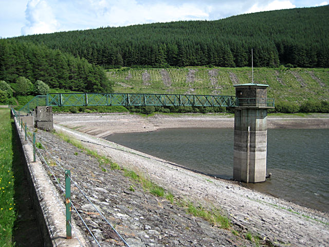 Low water levels in Glen Sherup