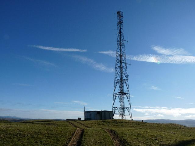 Knockormal Radio Mast