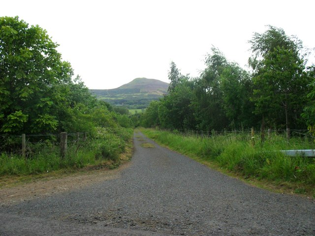 The Lye Road near Darnick