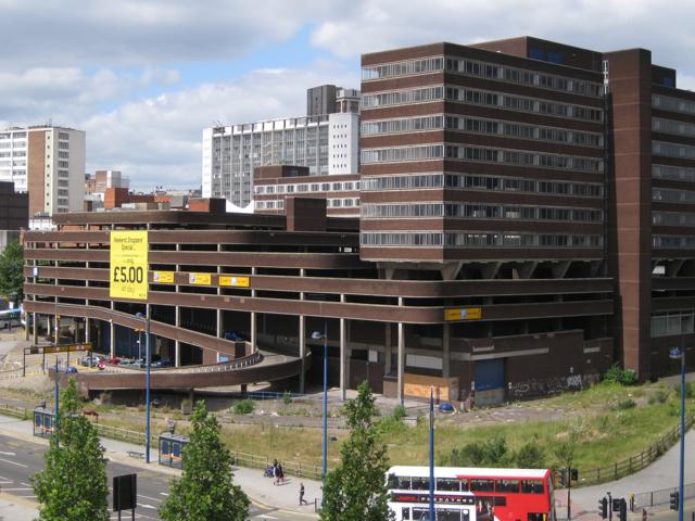 Northeast aspect of Albert Street car park