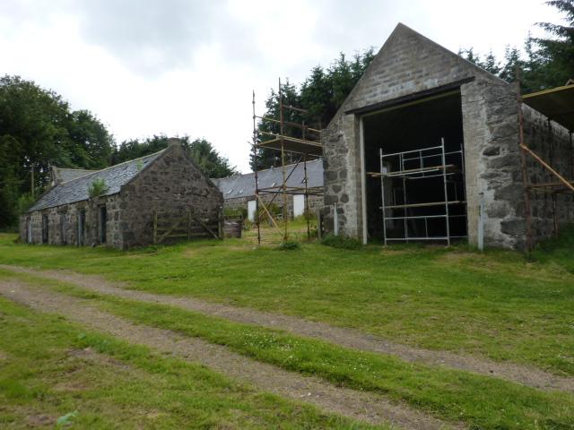 Old Merdrum farm buildings
