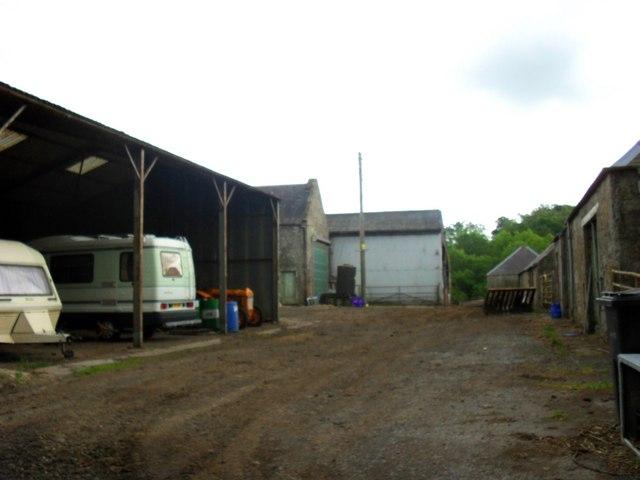 Buildings at Raeside Farm