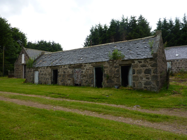 Old Merdrum - unused farm buildings