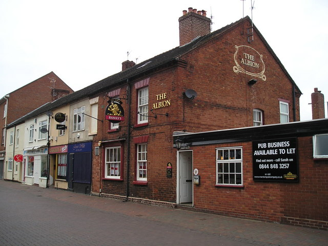 The Albion Pub, Rugeley