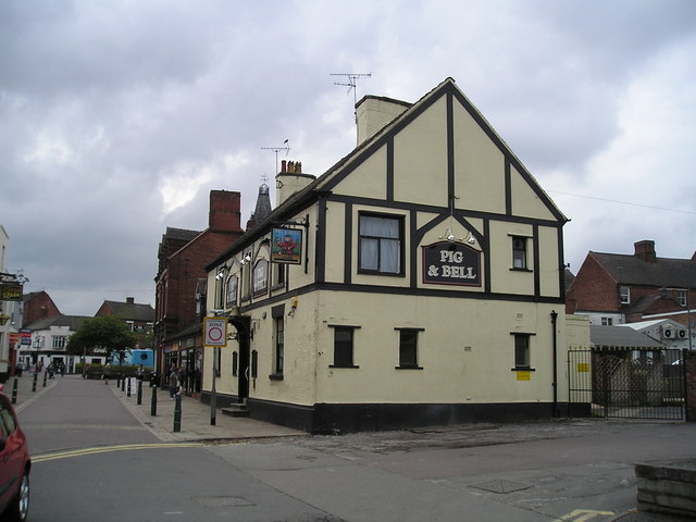 The Pig and Bell Pub, Rugeley