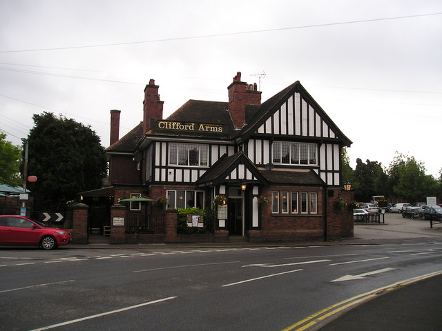The Clifford Arms Pub, Great Haywood