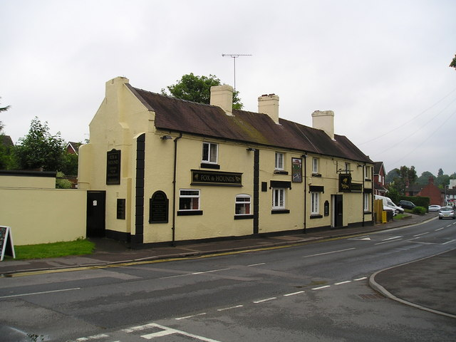The Fox and Hounds Pub, Great Haywood
